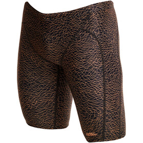 Funky Trunks Training Jammers Heren, leather skin